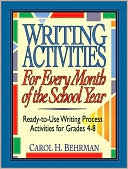 Writing Activities for Every Month of the School Year