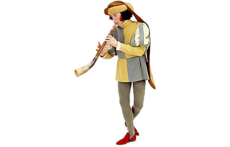 Horn Pipe Player