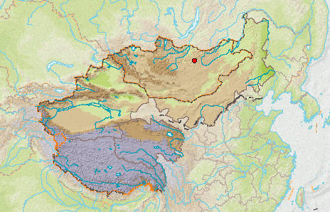 Western China And Mongolia
