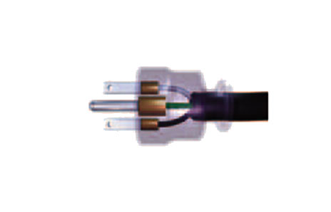 Three-Pin Plug