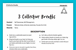 Three Collective Breaths (Primary)