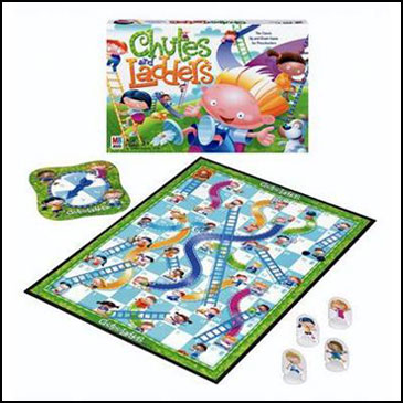 Best board games for kids - Chutes and Ladders