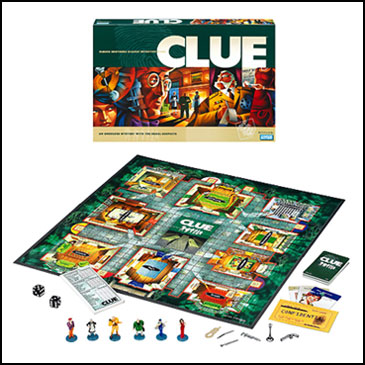 Best board games for kids - Clue