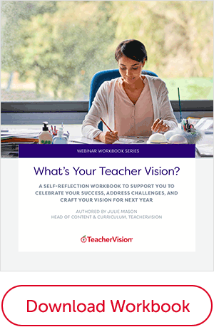 whats your teachervision workbook