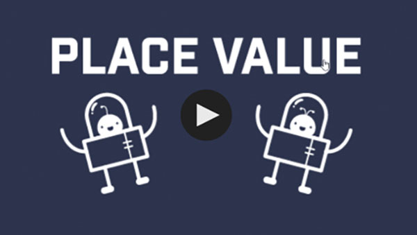 Place Value with Dill and Phil video from Genius Plaza