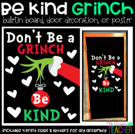 Don't Be a Grinch, Be Kind!