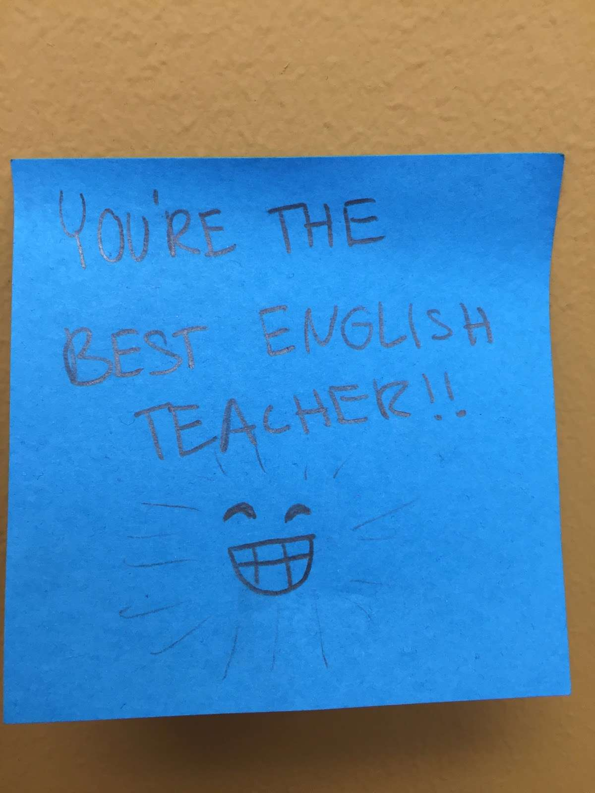 student appreciation is a huge reward for teachers