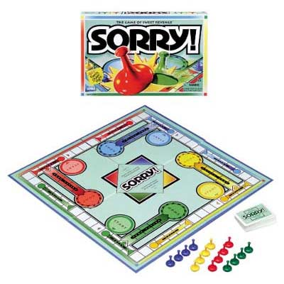 Best board games for kids - Sorry