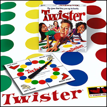 classic board games - twister