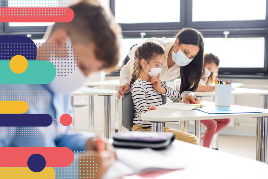 Maintaining COVID-19 safety guidelines in classrooms