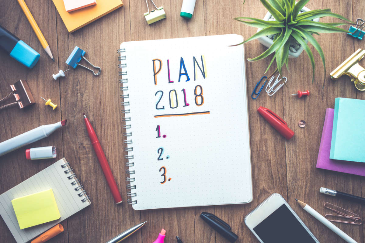 kick off 2018 with some totally achievable new year's resolutions