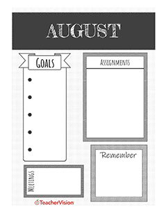 august planner for teachers