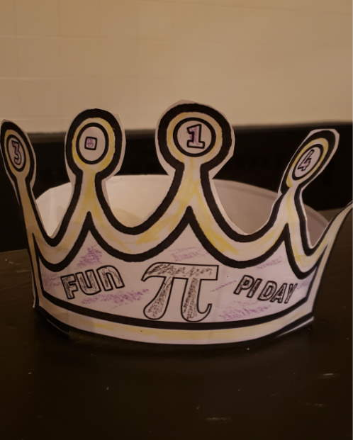 pi day pie crowns activity example crown