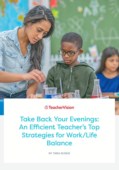 take back your evenings workbook