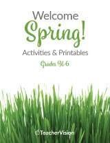 Spring Activities & Resources Printable Book