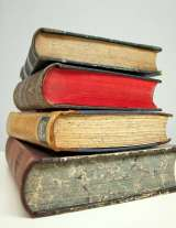 Stack of books - Study copyright