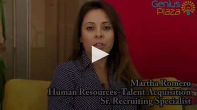 Genius Plaza Career Profile: Martha Romero, Sr. Recruiting Specialist