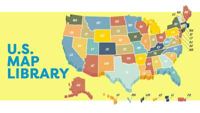 Map Library - United States