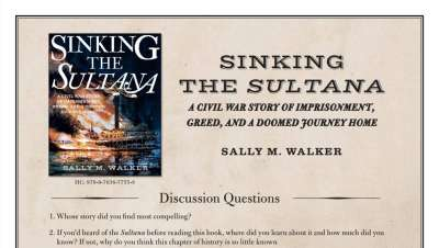 Sinking the Sultana Teaching Guide Cover Image