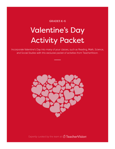 valentine's day printables and classroom activities