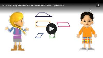 Animated Math Video: Classify Quadrilaterals Grade 5