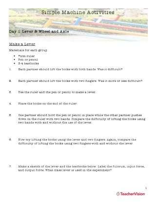 Help the Hero Student Activities Worksheet