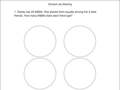 Division As Sharing Activity