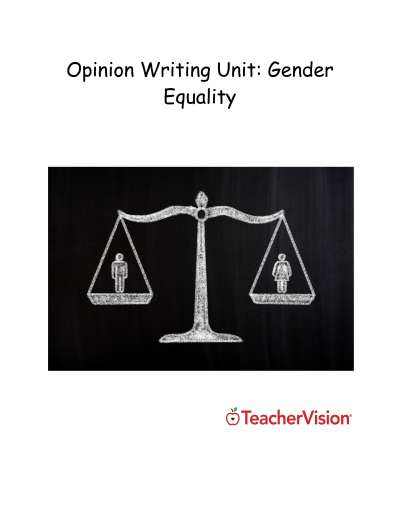 A comprehensive multi-day lesson plan for teaching an opinion essay
