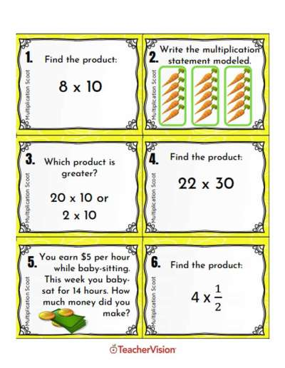 Math Resources for Teachers (Lessons, Activities, Printables