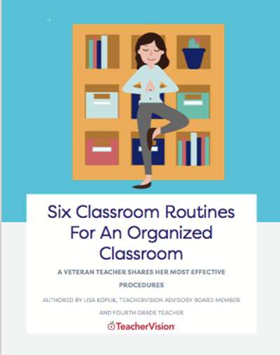 Six Classroom Routines For An Organized Classroom E-Book