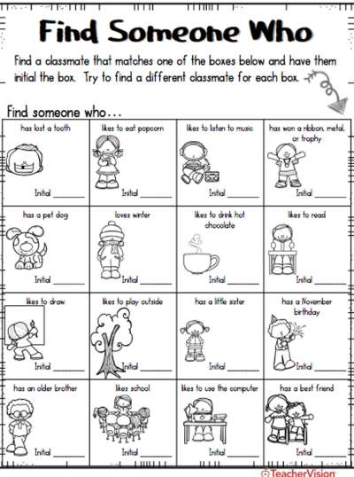 An activity that gets students up out of their seats and supports them to learn more about each other