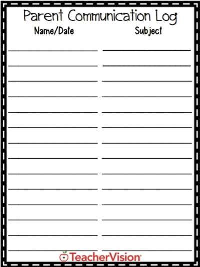 It is a photo of Printable Parent Teacher Conference Forms inside sample