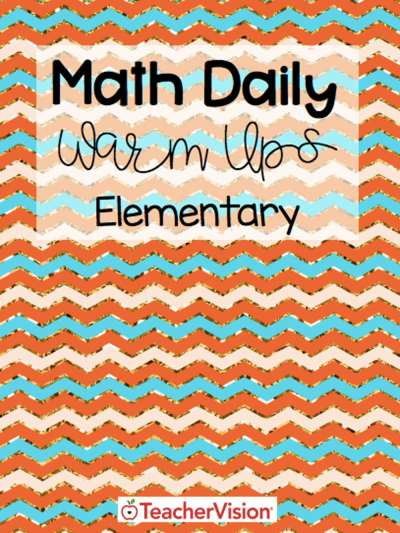 A packet of math warm-ups for elementary teachers to use at the beginning of the school year.