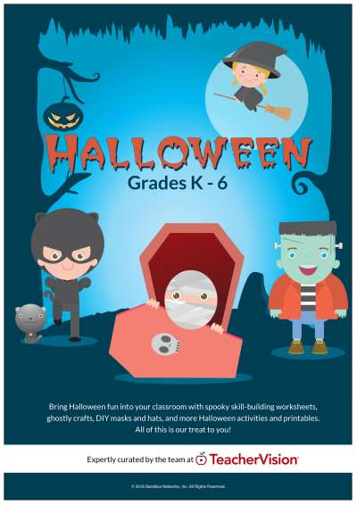 halloween packet for classrooms