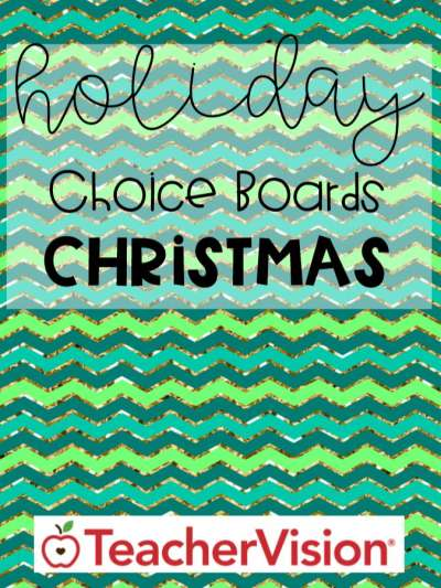 Christmas ELA, math, social studies activities for elementary classrooms