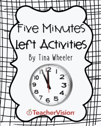5 Minutes Left Activities for the Elementary Classroom