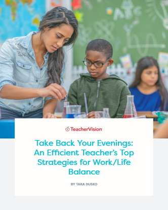 Take Back Your Evenings: An Efficient Teacher's Top Strategies for Work/Life Balance E-book