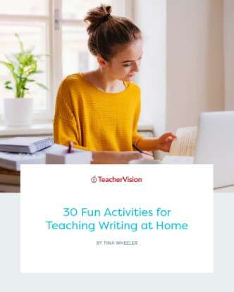 30 Fun Activities For Teaching Writing At Home Themed Packet