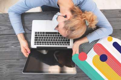 Exhuasted COVID teacher frustrated by remote learning