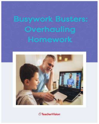 Busywork Busters Activity Packet for Overhauling Homework