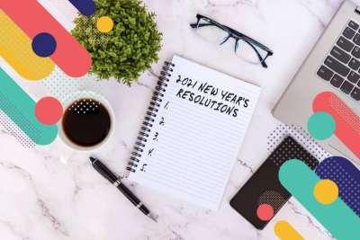 A teacher's 2021 New Year's Resolutions
