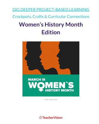 Dig Deeper Women's History Project-Based Learning Unit