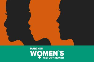 Virtual bulletin board ideas for Women's History Month
