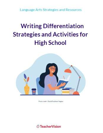 Writing Differentiation Strategies and Activities for High School