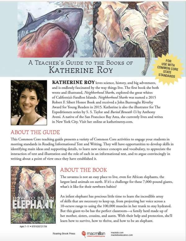 Katherine Roy Teaching Guide