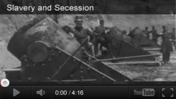 Slavery and Civil War Videos and Activities