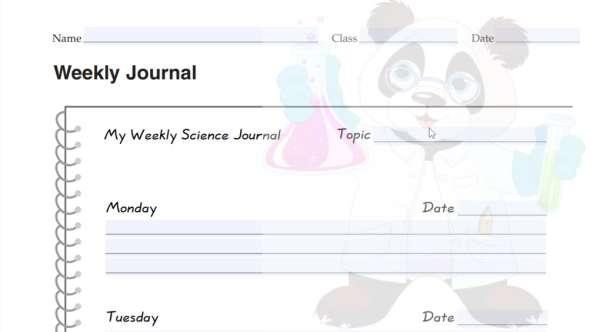 Weekly Science Journal