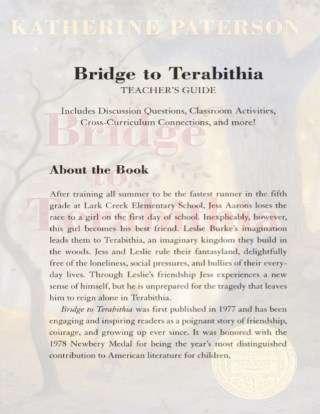 Bridge to Terebithia Teaching Guide