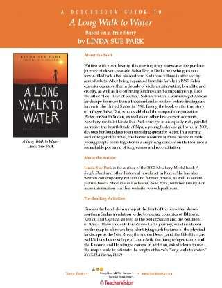 A Long Walk to Water YA Novel Discussion Guide