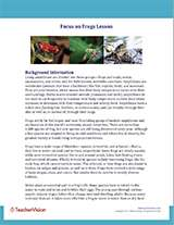 Focus on Frogs Background Information